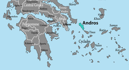 Andros, Griechenland